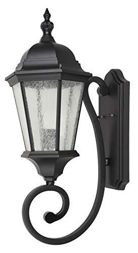 Ontario 25 Inch Outdoor Wall Lantern in Black (Ontario Outdoor Fixture)