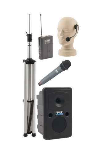 Anchor Audio Go Getter Dual Basic Package With 1 Handheld Microphone And 1 Headset Microphone