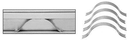 crl spring clip for aluminum frame molding pack of 100 screen door hardware amazoncom