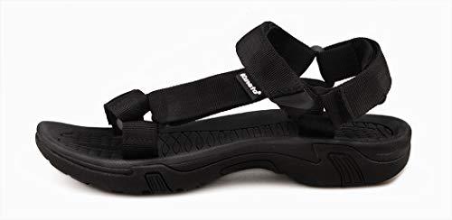 c38cb4000995b9 Kunsto Men s Synthetic Leather Open-Toe Sandal - Buy Online in Oman ...