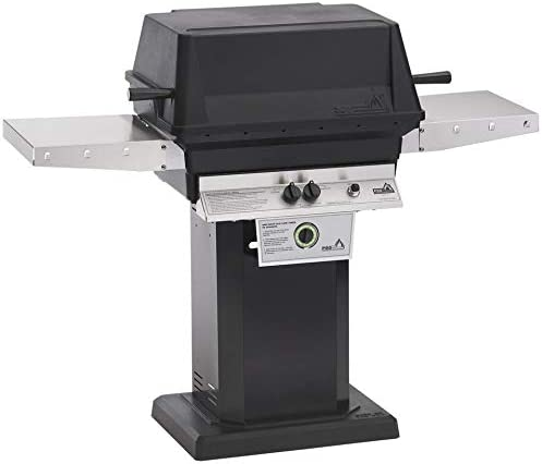 pgs-t-series-t40-commercial-cast-aluminum-freestanding-natural-gas-grill-with-timer-on-black-patio-base