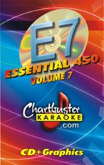 Chartbuster Essential 450 Collection Vol. 7 CD+G Pack - Chartbuster Essential 450 Collection