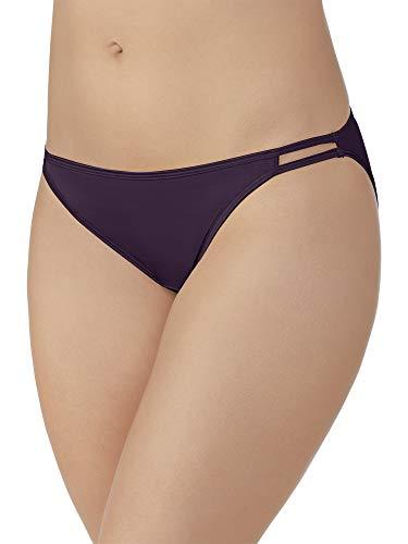 (Vanity Fair Women's Illumination Plus Size Bikini Panty 18810, Sangria, 4X-Large/11)