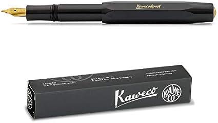 Extra Fine Kaweco Sport Classic Stylo Plume noir EF
