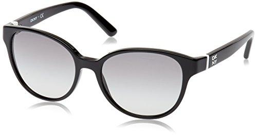 DKNY Women's Dy4117 Cateye, Black & Gray Gradient, 55 - Lens Dkny