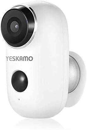YESKAMO Cámara de Seguridad 1080P con Audio