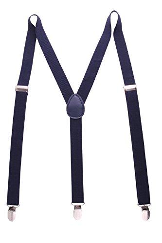 Navy Blue Suspenders - 5