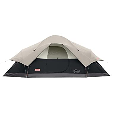 Coleman Red Canyon 8 Person Tent, Black