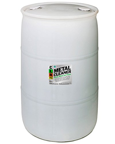 CLR CLRMC-55Pro  Non Corrosive Metal Cleaner, 55 gal Drum by CLR