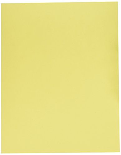 Springhill, Digital Card Canary, 90lb, Letter, 8.5 x 11, 250 Sheets / 1 Ream, (035100R) Made In The USA