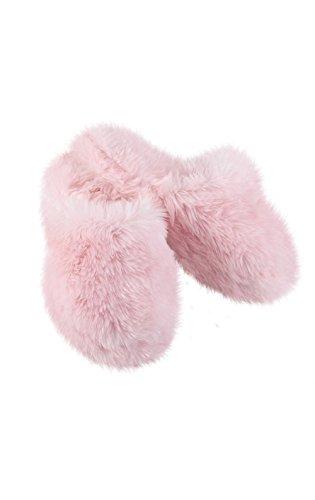 Pajamagram Kvinners Fuzzy Wuzzies Tøfler Rosa