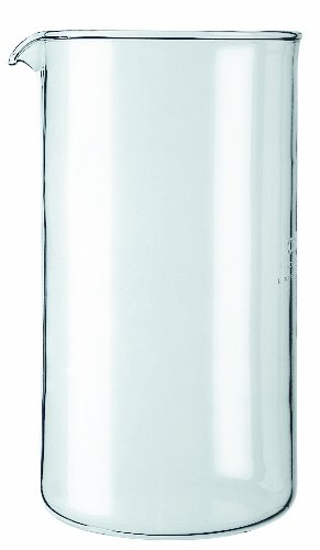 8 Cup Unbreakable French Press - BODUM Shatterproof Plastic 8 European Cup Replacement Beaker, 34-Ounce