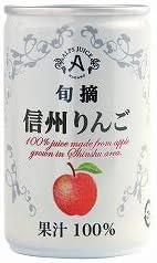 創健社のアルプス 信州りんご(ジュース) 160g×6個JAN: 4906251081330