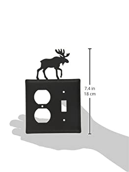 8 Inch Moose Single Outlet & Switch Cover 1