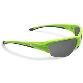 Epoch Eyewear Epoch 2 Inlaid Rubber Sunglasses, Lime Frame