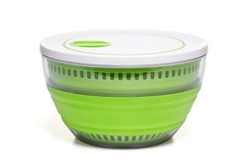 Gadgets Salad Spinner (Prepworks by Progressive Collapsible Salad Spinner - 4 Quart)