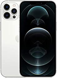 New Apple iPhone 12 Pro Max (256GB, Silver) [Locked] + Carrier Subscription