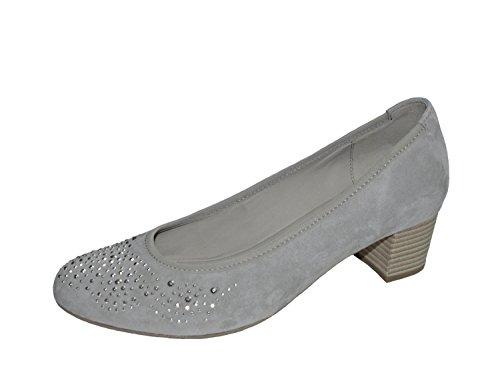 Gabor 65.381.19 - Zapatos de vestir para mujer gris