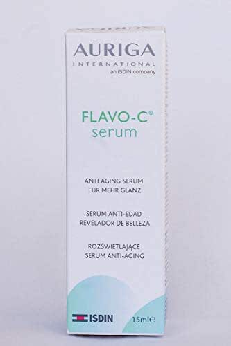 Auriga International an ISDIN Company Vitamin C Serum 8% Flavo-C 15 mL, 0.51 us fl oz