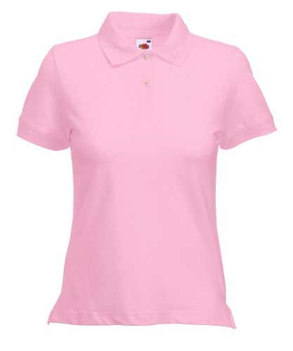 Fruit of the Loom Classic Poloshirt L,Light Pink