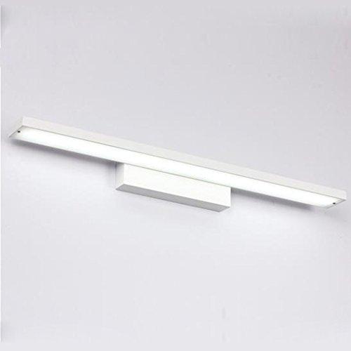 Badezimmerleuchten Led Spiegel Scheinwerfer, Badezimmer Badezimmer Einfache  Aluminium Spiegel ( Farbe : A Weiß 24w100cm ): Amazon.de: Beleuchtung