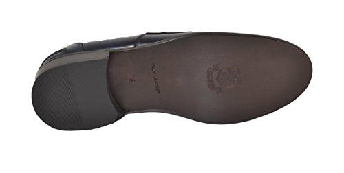 Abrasivato Blu Mocassino Of Cuoio Saxone Scotland MS10 Fondo xqnFnI1t