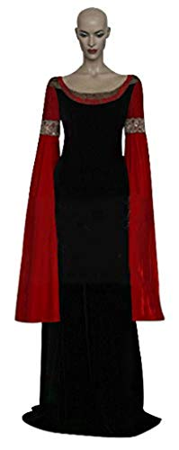 Mtxc Women's The Lord of The Rings Cosplay Costume Arwen Full Set Size X-Large Red]()