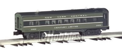 O-27 Williams Streamline Passenger Set, NYC (4) by Bachmann Trains