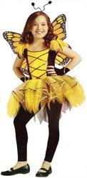 [Tween/Teen Girl's Costume: Ballerina Butterfly, Gold-Large PROD-ID : 1126886] (Butterfly Tween Costumes)