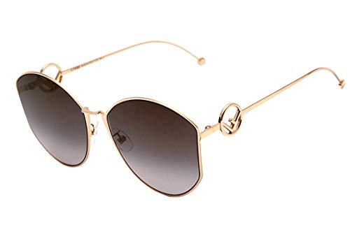 Fendi Ff 0335 S - Óculos De Sol J5G Fq Dourado Brilho/doura