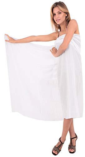solido coprire tuta pianura rayon bagno LA beachwear da costume sarong cosa LEELA di involucro EtWqqnwOv