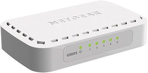66 opinioni per Netgear GS605-400PES Switch, 5Porte