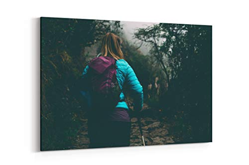 Jungle Hiking Forest and Hike in Peru - Canvas Wall Art Gallery Wrapped 26