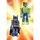 DC Universe MiniMates Wave 3 Battle-Damaged Batman and Killer Croc