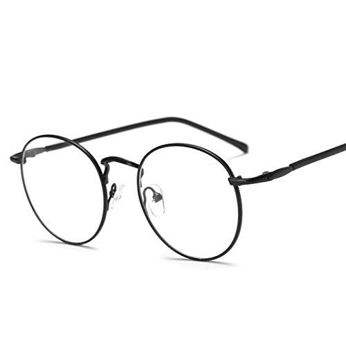 Hot sale!Elevin(TM)2017Woman Men Fashion Square Vintage UV400 Outdoor Sports Mirrored Sunglasses Eyeglasses Eyewear Glasses with Box (A, - Sale Vintage Eyeglasses