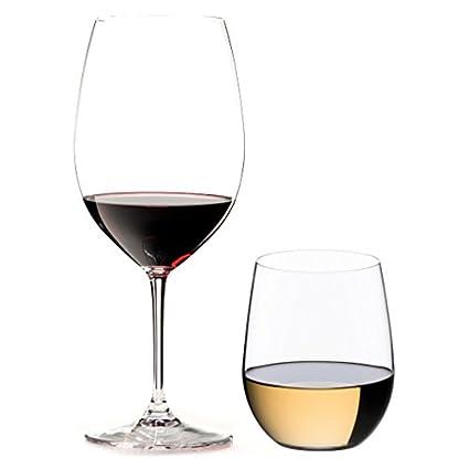 abba77e740f Amazon.com   Riedel 8 Piece Vinum Bordeaux and O Viogner Wine Glass ...