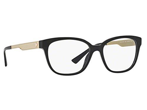 Versace VE3240 Eyeglasses 54-16-140 Black w/Demo Clear Lens GB1 VE ()