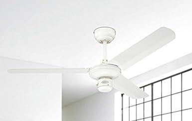 Westinghouse Lighting 7833740 Industrial, Métal, Finition en blanc avec plales en blanc