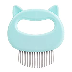 nixo Cat Comb, Pack of 1, Gentle Cat Grooming Comb & Cat Massage Comb – Effective Dematting Comb for Cats, Ideal Cat…