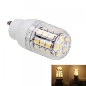GU10 5W 30LED 300LM 3000K Warm White Light Corn Light with Transparent Cover (200-240V)