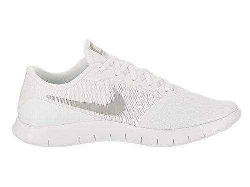 White Fitness silver – Unisex Adulto Wmns Nike metallic Scarpe Flex Contact Da AXT6n