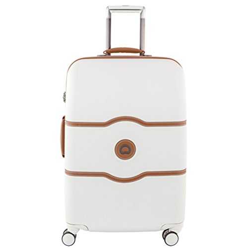 Delsey Chatelet Plus Hardside 24 inch Spinner Trolley Champagne