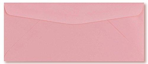 50 Color Pink #10 Business Envelopes, 9.5