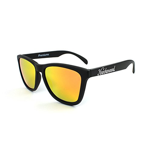 Gafas de sol Knockaround Classic Premium Black / Sunset POLARIZADAS: Amazon.es: Electrónica