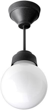 Ikea Vitemölla - Lámpara de Techo, Vidrio de Metal: Amazon.es: Hogar
