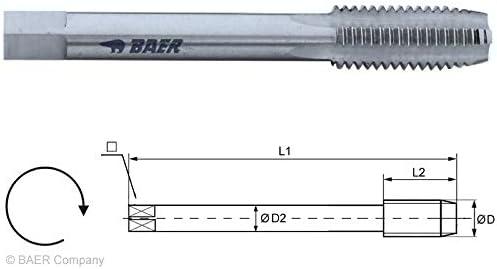 HSSG Einschnittgewindebohrer Form D - M 22 x 2,5 DIN 352 - Gewindeschneider Gewindebohrer M22
