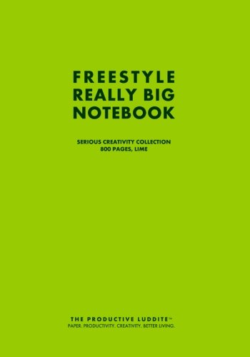 Download Freestyle Really Big Notebook, Serious Creativity Collection, 800 Pages, Lime ebook