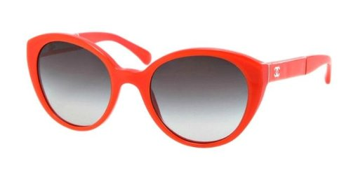 Gafas de Sol Chanel CH5252Q ORANGE / GRAY GRADIENT: Amazon ...