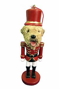 Wheaten Terrier Ornament Nutcracker (Ornament Terrier Wheaten)