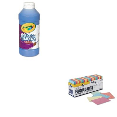 kitcyo543115042pac74170-value-kit-pacon-blank-flash-card-dispenser-boxes-pac74170-and-crayola-artist